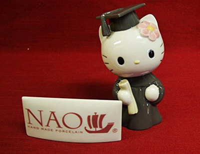bb289e597 Qoo10 - Nao by Lladro Collectible Porcelain Figurine: HELLO KITTY -  Graduation... : Furniture & Deco