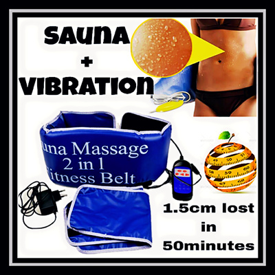 Qoo10 - National day Promotion/2in1 sauna belt/Vibroaction ...