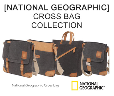 National Geographic Collection Cross Bag Ng S2401 S2402 S2403
