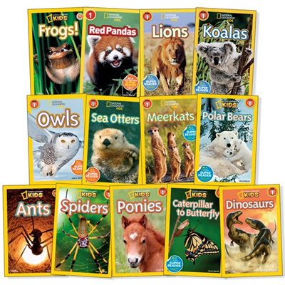 National Geographic Kids Readers Pre L1 L2 L3 and Usborne Collections!!  Coupons available!!