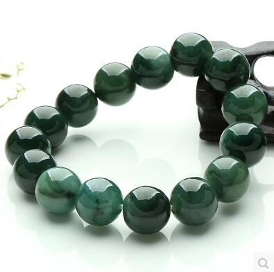 listing and au mens jade il green s beads bracelet men gold qinghai