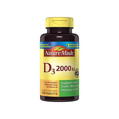 d672cefd62f Qoo10 - Nature Made Vitamin D3 2000 IU 100 Count Tablets   Diet ...