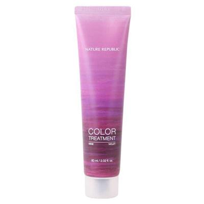 Nature Republic Hair & Nature Warna Perawatan 60ml [Wine Violet]