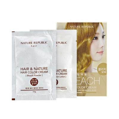 Qoo10 - [NATURE REPUBLIC] Hair & Nature Hair Color Cream Bleach ...