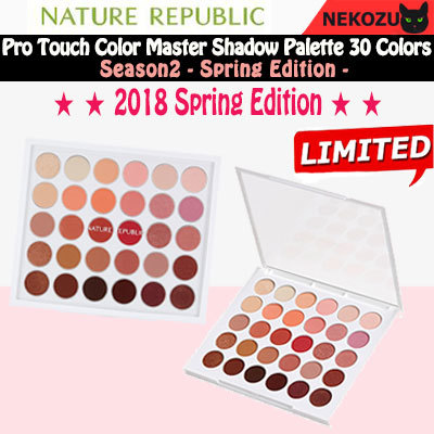 Nature Republic Pro Touch Color Master Shadow Palette Review