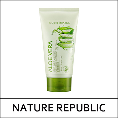 [NATUREREPUBLIC] Soothing and Moisture Aloe Vera Cleansing Gel Cream 150ml