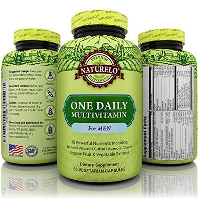 Best Multivitamin For Men >> Qoo10 Naturelo Naturelo One Daily Multivitamin For Men Best