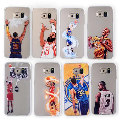 size 40 89dba 2c6e0 nba basketball player star phone case samsung galaxy s4 note 3 s5 s7 s6  edge lebron james harden