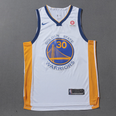 online store 864f2 71fa6 nba jersey2017-2018 Golden State Warriors #30 Stephen Curry Jersey White