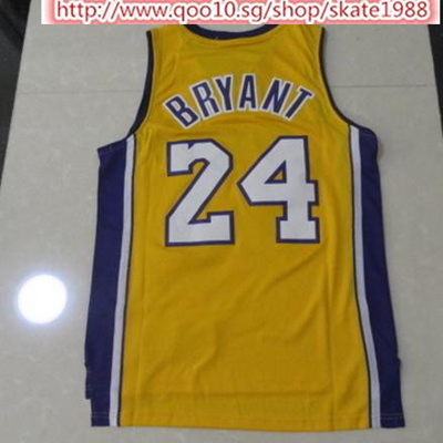 ed01665ca Qoo10 - NBA Lakers Kobe Bryant 24 Basketball Training Breathable Embroidery  Je...   Sportswear