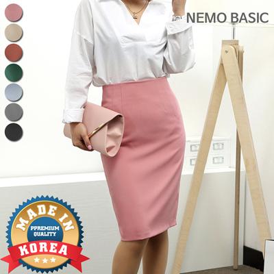 7cbb7f145ea72 Nemo[Nemo] 7Color Daily Office Look Skirt /Korean Fashion /Free Shipping