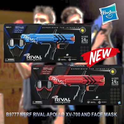 HASBRO Nerf Rival Starter Kit with Apollo Face Mask and darts