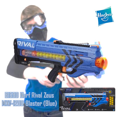 HASBRO Nerf Rival Zeus MXV 1200 - Blue / Red (B1591)