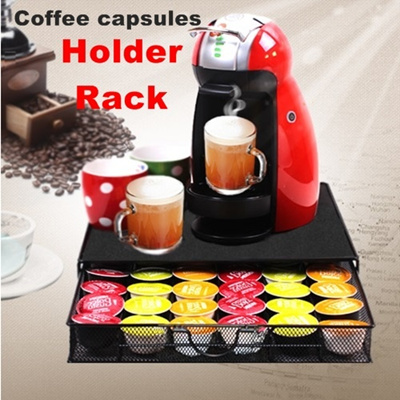 qoo10 nespresso nescafe dolce gusto capsule coffee holder rack slim coffee p kitchen dining. Black Bedroom Furniture Sets. Home Design Ideas