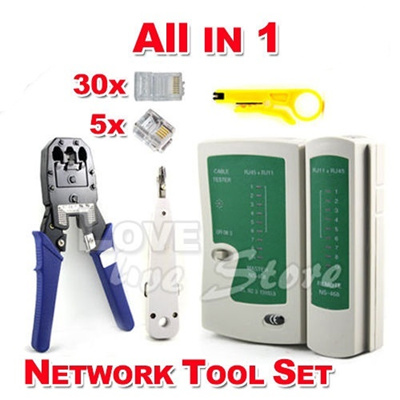 Qoo10 - Net work Ethernet LAN RJ11 RJ45 CAT5 CAT6 Cable Tester Wire ...