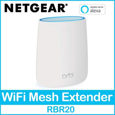NetgearNETGEAR Orbi WiFi Router RBR20 Home Tri-Band Mesh-Ready
