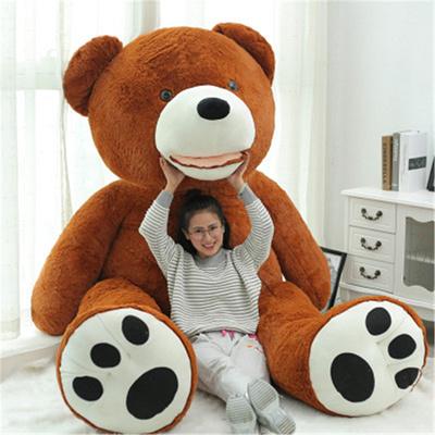 Qoo10 teddy bear toys new 13m 130cm 52 inches 43 feet light brown large big giant teddy bear doll publicscrutiny Gallery