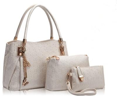 61b4ebb4f85 New 2015 women handbags leather handbag women messenger bags ladies brand  designs bag bags Handbag+Messenger Bag+Purse 4 Sets