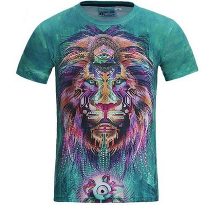 New 3D Digital Printing T-Shirt Explosion Products