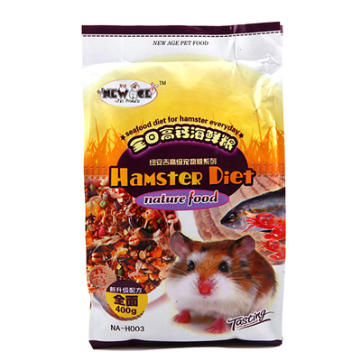 New age niuan Ji Cangshu main barn rats high calcium a day seafood Staples  400g Hamster food