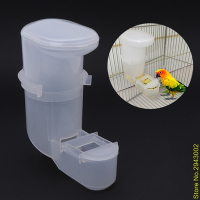 Bird Feeding United Automatic Pet Bird Feeder Parrot Water Feeding Drinker Clip Cage Supplies Pet Products