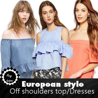 f0b6135f48b05 Qoo10 - cold off shoulder   Women s Clothing