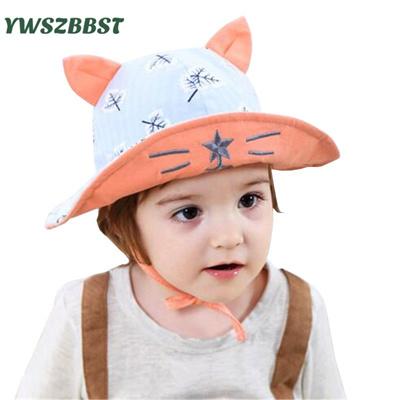 25922ffa436 Qoo10 - New Baby Hat Spring Summer Sunhat Boys Sun Hat Kids Fisherman Hat  Girl...   Baby   Maternity