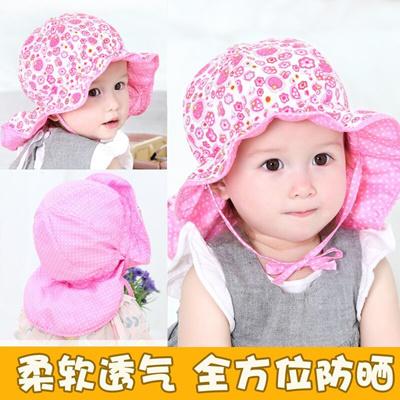 Qoo10 - New baby hats and children hats baby bucket Hat Cap sun visor Cap  Hat ...   Men s Bags   Sho. d3aaff38d23