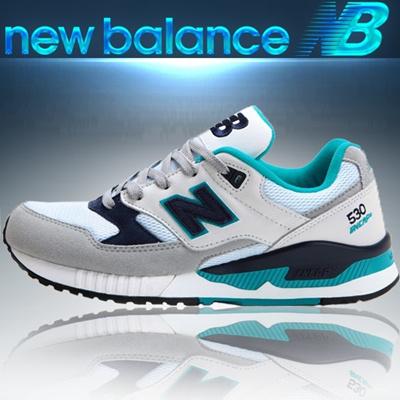 New Balance M530AAC: WhiteTurquoise   New balance sneakers