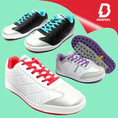 bbae20e93a98 Qoo10 - New Bonfeel Mens golf shoes spikeless golf shoes Womens golf shoes    Sports Equipment