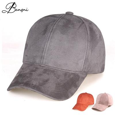New Brand Gorras Suede Baseball Caps Women Hat Outdoor Sports Cap Casquette  Bone Adjustable 7affd85c01a
