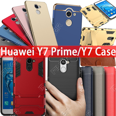 premium selection e0c81 cfbcd New Case Flip Cover For Huawei Y7 Prime Y7 Case 360 Back Cover For Huawei  Enjoy 7 Plus casing