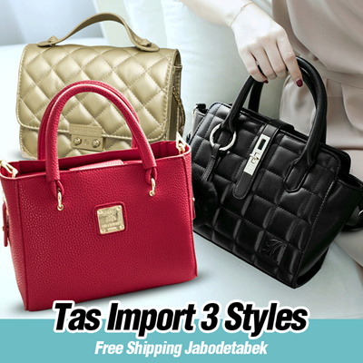 NEW COLLECTION - JIMS HONEY - TAS WANITA - IMPORT - 3 STYLES - Free Ongkir 24f24733ce