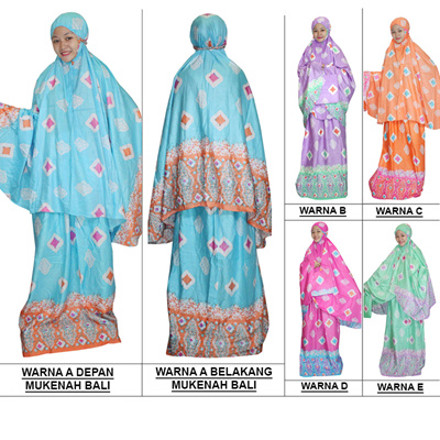 New Collection of Mukena Bali   Mukena Batik   Mukena Adult Rayon Material  (MPT001- d4a862db64