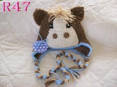 Qoo10 - New Crochet Horse Baby Hat 2cfd2826ce8