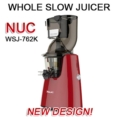 Nuc Kuvings Slow Juicer : Qoo10 - NEW DESIGN! NUC(Kuvings) Whole Slow Juicer Extractor Mixer WSJ-762K B6... : Home Electronics