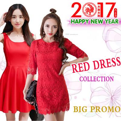 9ad737f3795d1 Qoo10 - NEW DESIGNS PROMO RED dress/ New Year dress /festival dress ...