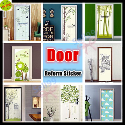 Qoo10 wallpaper furniture deco for Eco friendly doors