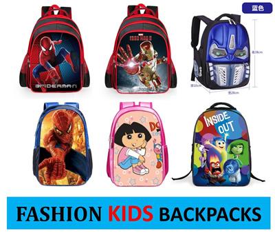 b74f33ad48b0 New Fashion Cute Cartoons Backpack Kid children school bag Birthday xmas  CNY Present GIFT