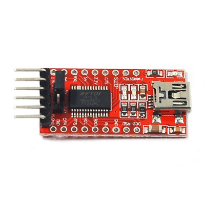 New FT232RL 3 3V 5 5V FTDI USB to TTL Serial Adapter Module for Arduino  Mini Port High Quality (Size