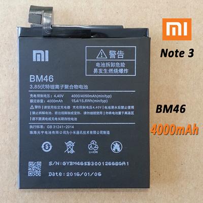 Qoo10 New Internal Battery For Xiaomi Note 3 Bm46