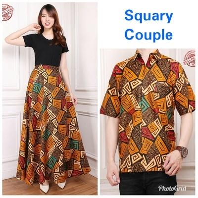 Qoo10 - New items - Couple Collection Batik Womens Batik Skirt and Mens batik ... : Women's Clothing