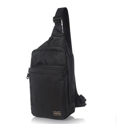 New Japan Yoshida porter mens nylon cloth chest Messenger bag leisure trend mens  bag shoulder bag 4ba8a07c31266