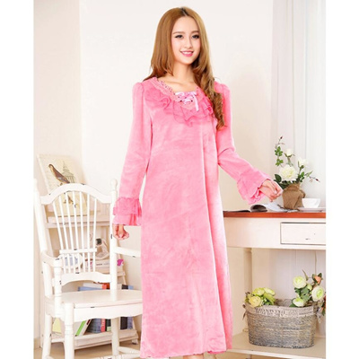 fd9043e00d7 Qoo10 - New Maternity Nightwear Plus Size Flannel Pyjamas Pink Hot pink for  Wo...   Baby   Maternity