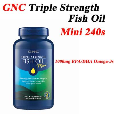 Qoo10 fish oil mini 240 diet beauty tools for Gnc fish oil