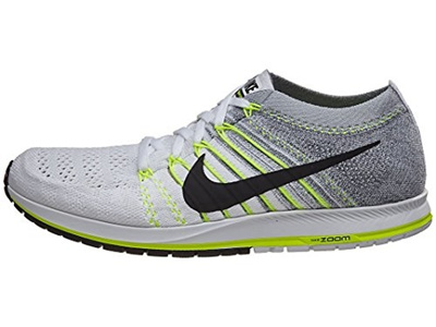 Qoo10 - (new) Nike Zoom Flyknit Streak 6 Running Shoes White Grey Black  Size 5...   Shoes 37065de604