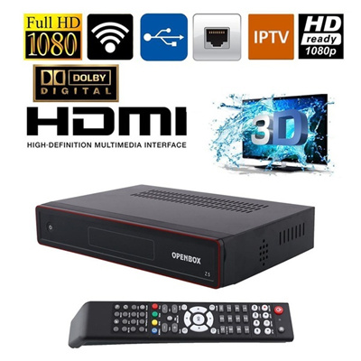 New Openbox Z5 PVR HD TV Satellite Receiver USB Wifi With Hdmi Cable