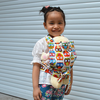6f5ce39546f Qoo10 - New Owl Baby Doll Carrier Mei Tai Sling Toy For Kids Children  Toddler ...   Small Appliances