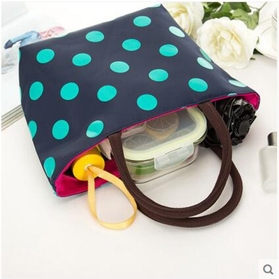 New Oxford Cloth Bag Casual Handbags Lunch Bags