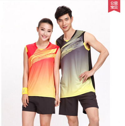 46ac6492fa0675 Qoo10 - New pattern badminton suit 新款羽毛球服套装   Sportswear